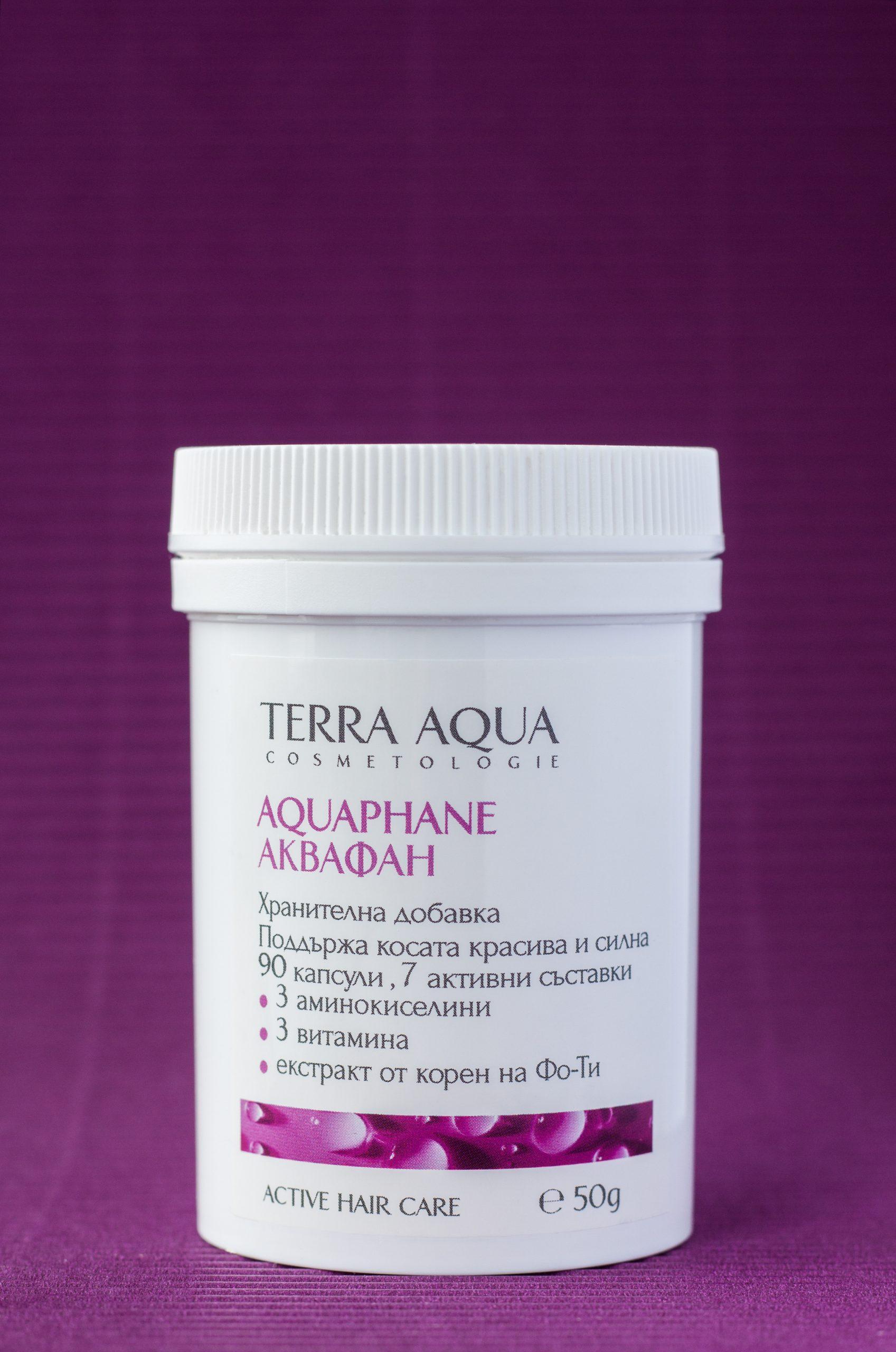 Terra Aqua AQUAPHANE хранителна добавка при косопад